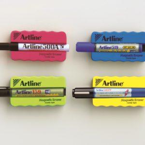 Губки для доски с держателем для маркера Artline