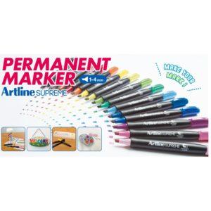 Тонкий перманентный маркер Artline Supreme EPF-709
